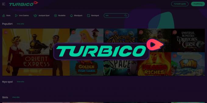 Turbico casino nyhet